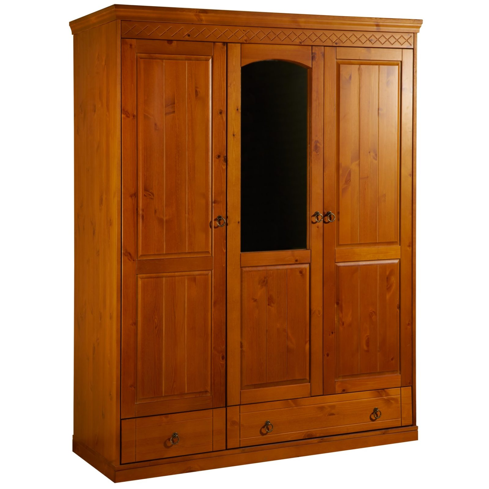Шкаф 3-створчатый дания 2 - мебель из массива геленджик.