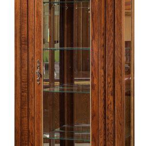 Шкаф с витриной «Милана 8» П265.08