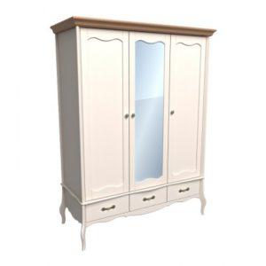 Шкаф Лебо 3х дверный с зеркалом