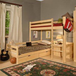 Кровать верхнеярусная №1 Классик