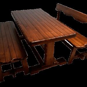 Набор Царский (стол и 2 скамейки)